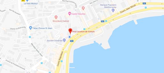 maps centre ville