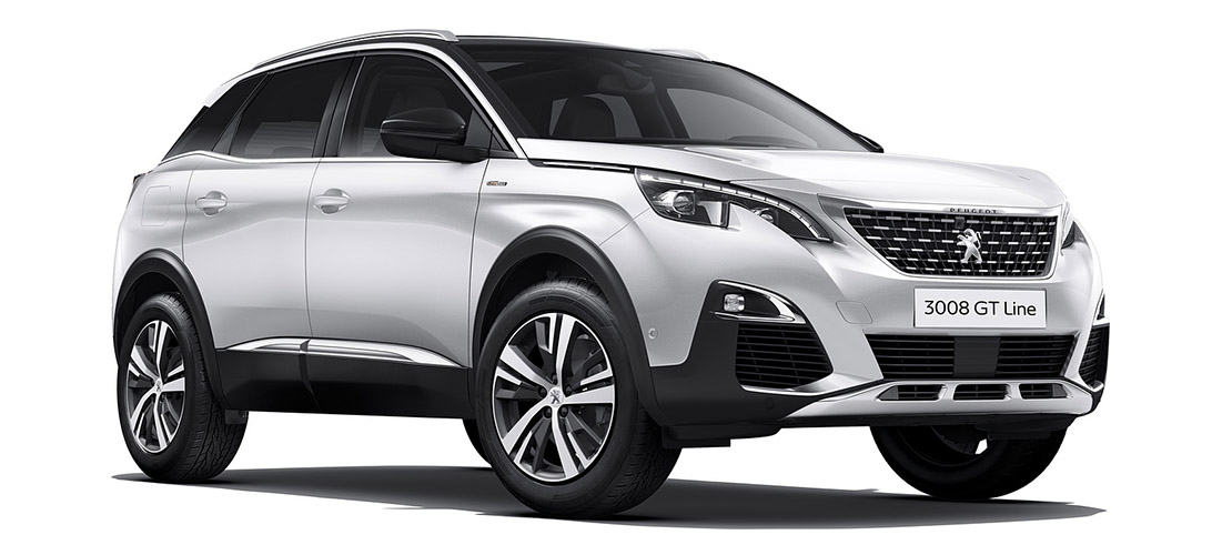 Peugeot 3008 - location SUV