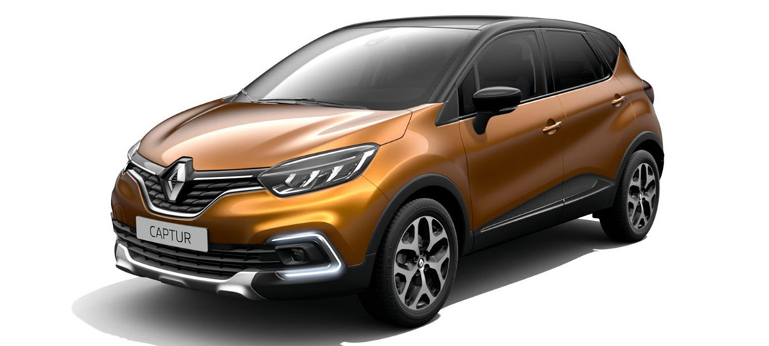 Renault Captur - location SUV