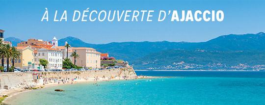 Partir d'Ajaccio à la visite de la Corse